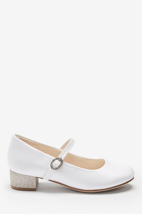 Next Occasion Glitter Heel Mary Jane Shoes (Older)