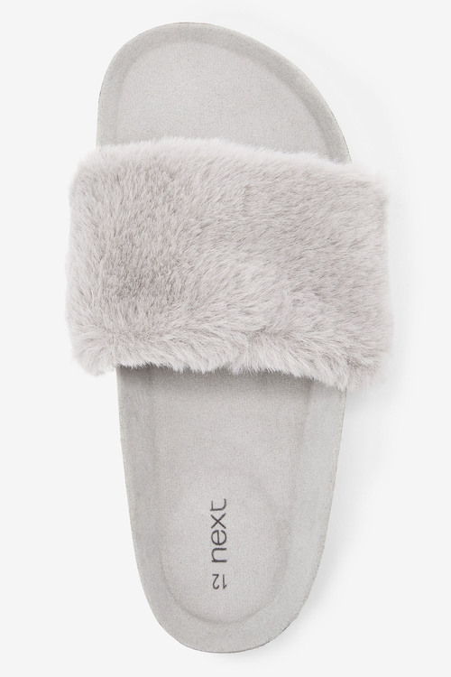 Next Faux Fur Corkbed Sliders (Older)