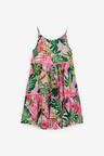 Next Palm Print Tiered Dress