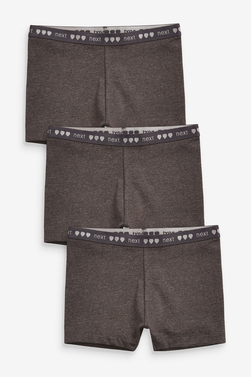 Next 3 Pack Modesty Shorts (2-16yrs)