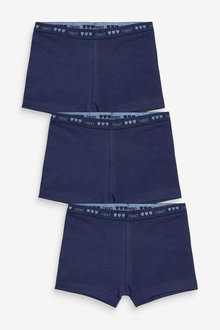 Next 3 Pack Modesty Shorts (2-16yrs) - 276762