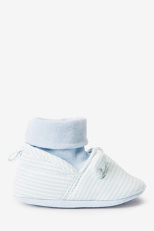 Next Blue Bear Pram Sock Boots (0-18mths) - 276797