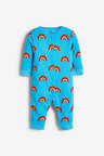 Next 3 Pack Retro Car Footless Sleepsuits (0mths-3yrs)