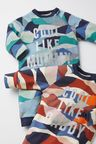 Next GOTS Organic Cool Like Mummy Camo Footless Zip Sleepsuit (0mths-