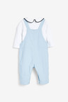 Next Smart Cord Dungarees And Jersey Bodysuit Set (0mths-3yrs)