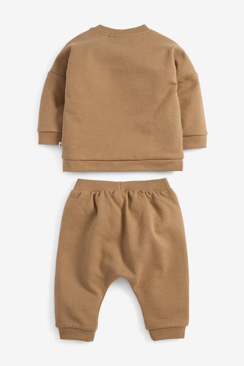 Next GOTS Organic Sweatshirt and Joggers Set (0mths-2yrs)