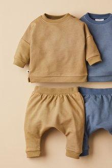 Next GOTS Organic Sweatshirt and Joggers Set (0mths-2yrs) - 276965