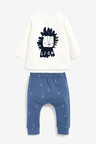 Next GOTS Organic Lion T-Shirt And Leggings Set (0mths-3yrs)