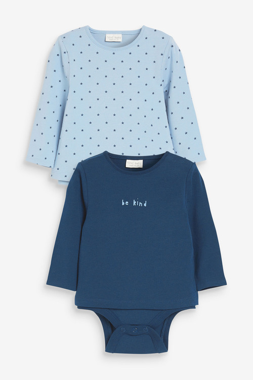 Next 2 Pack T-Shirt Bodies (0mths-3yrs)