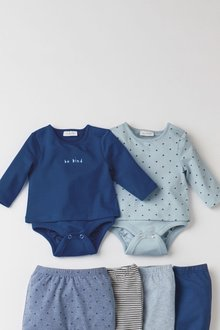 Next 2 Pack T-Shirt Bodies (0mths-3yrs) - 276984