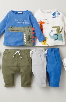 Next 2 Pack Crocodile T-Shirts (0mths-3yrs) - 276985