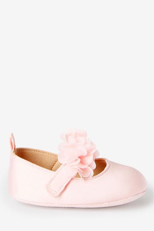 Next Corsage Pram Shoes And Headband Set (0-18mths)