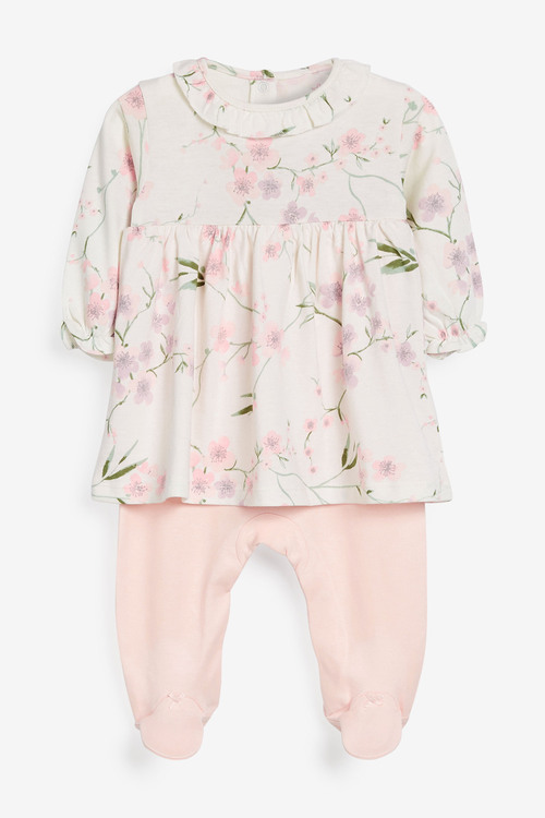 Next Floral 2-In-1 Sleepsuit (0mths-2yrs)