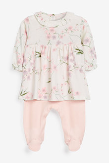 Next Floral 2-In-1 Sleepsuit (0mths-2yrs) - 277026