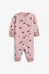 Next 3 Pack Star Spot Footless Sleepsuits (0mths-3yrs)