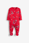 Next 3 Pack Floral Sleepsuits (0mths-2yrs)