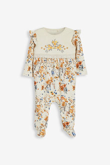 Next Smart Floral Sleepsuit (0mths-2yrs) - 277033