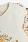 Next Smart Floral Sleepsuit (0mths-2yrs)