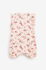 Next 4 Pack Multi Floral Rompers (0mths-3yrs)