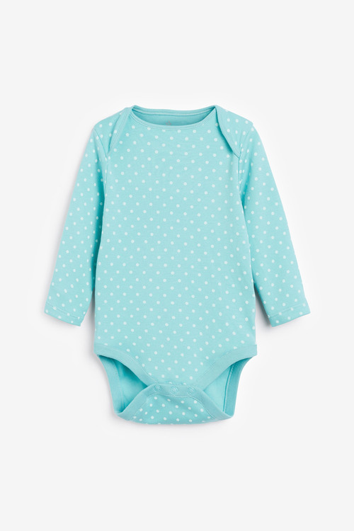 Next 7 Pack Spot Bunny Long Sleeve Bodysuits (0mths-3yrs)