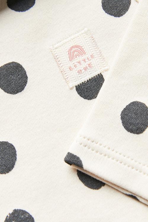 Next 3 Pack Mini Print Long Sleeve Bodysuits (0mths-3yrs)