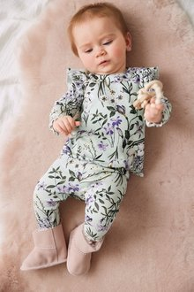 Next 2 Piece Floral Co-ord Set (0mths-2yrs) - 277063