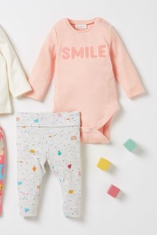 Next 2 Piece Slogan Body And Leggings Set (0mths-2yrs) - 277067