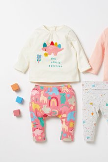 Next 2 Piece Character T-Shirt And Leggings Set (0mths-2yrs) - 277068