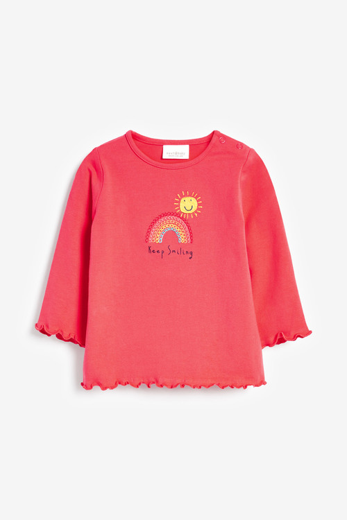 Next 3 Pack Bright Jersey Tops (0mths-2yrs)