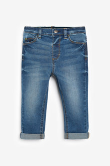 Next Five Pocket Jeans With Stretch (3mths-7yrs)-Regular Fit - 277291
