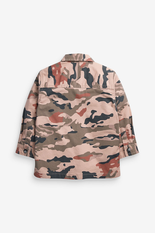 Next Camo Shirt And Dino T-Shirt Set (3mths-7yrs)