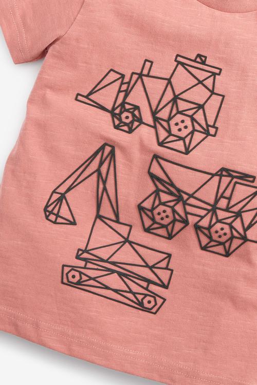 Next Digger T-Shirt (3mths-7yrs)