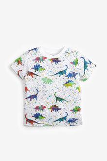 Next Splat Dino T-Shirt (3mths-7yrs) - 277366
