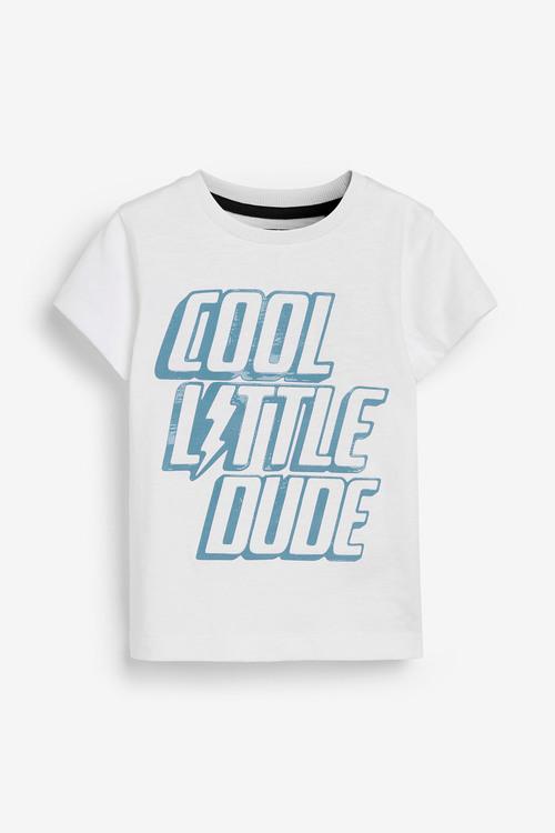 Next Little Man T-Shirt and Jogger Set (3mths-7yrs)