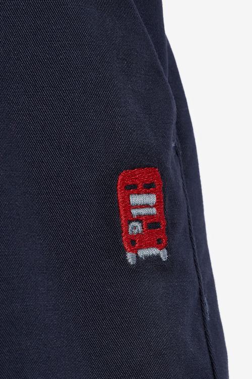 Next London Shirt And Shorts Set (3mths-7yrs)