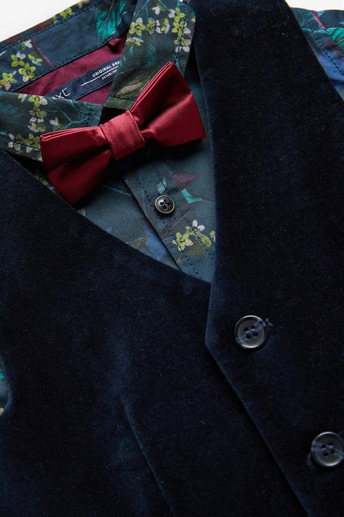 Next Velvet Waistcoat & Trousers Set (3mths-7yrs)