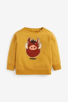 Next Pumbaa Jersey Crew Neck Sweater (3mths-8yrs) - 277416