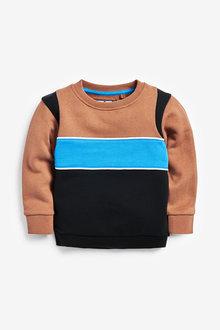 Next Colourblock Crew Neck Sweater (3mths-7yrs) - 277420