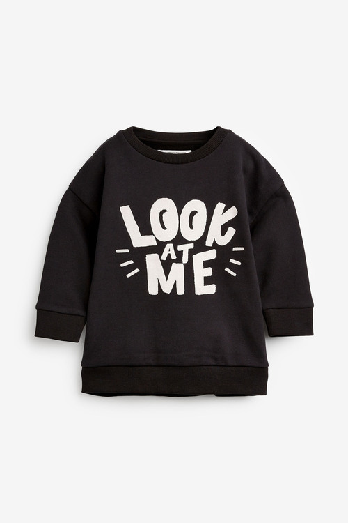 Next Slogan Crew Neck Top And Leggings Set (3mths-7yrs)