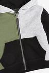 Next Hotchpotch Jersey Zip Through And Jogger Set (3mths-7yrs)