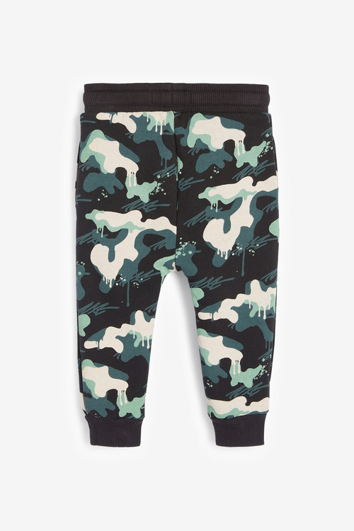 Next Drippy Camo Crew And Joggers Set (3mths-7yrs)
