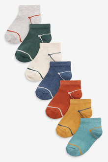 Next 7 Pack Trainer Socks (Younger) - 277602