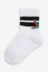 Next 5 Pack Ribbed Character Sports Socks (Younger)