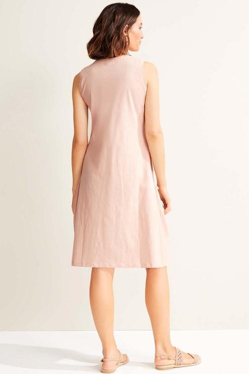 Capture Cotton Slub Pocket Dress