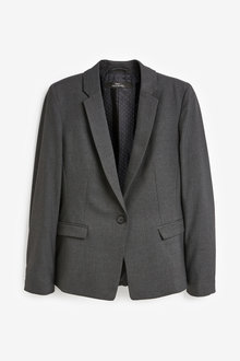Next Single Breasted Tailored Jacket-Tall - 277690