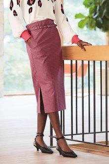 Next Belted Midi Skirt - 277810