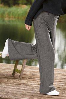Next Emma Willis Wide Leg Textured Trousers-Regular - 277826