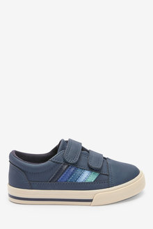 Next Stripe Strap Touch Fastening Shoes (Younger) - 277831