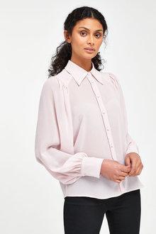 Next Volume Sleeve Shirt-Regular - 277839