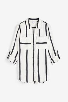 Next Stripe Shirt-Regular - 277863